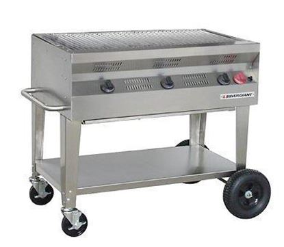 Picture of Silver Giant Commercial Stainless Steel Grill, SGC-36