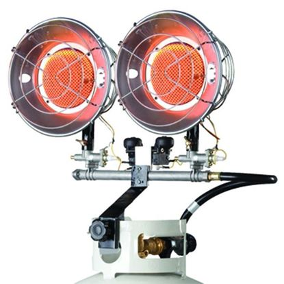 Picture of Mr. Heater Double Burner Tank Top Radiant Heater, MH30T, F242650, 30,000 BTU