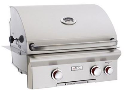"Picture of American Outdoor Grill, 24"" Built In Grill, 24NBT"