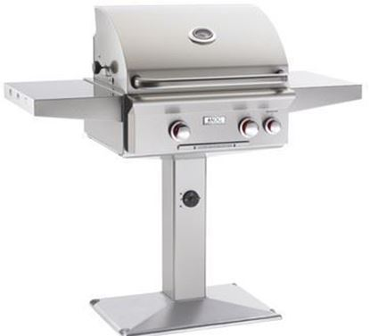 "Picture of 24NPL, American Outdoor Grill, 24"" Patio Post Grill"