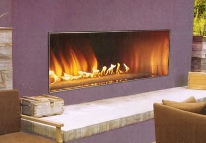 Picture of Carol Rose Linear Outdoor Fireplace 48 & 60