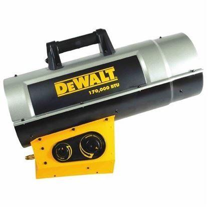 Picture of Dewalt Portable Forced Air Propane Heater, DXH170FAVT