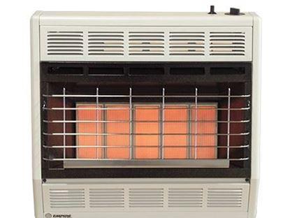 SR30W vent less heater